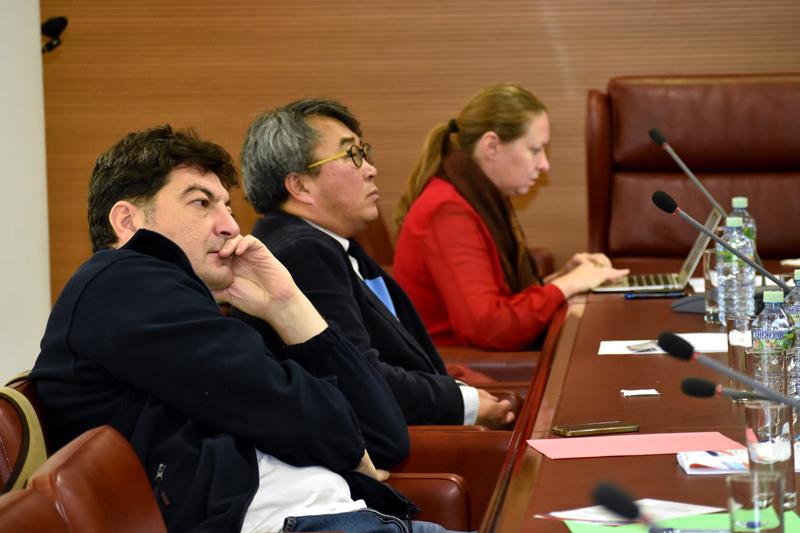 Ульви Мехти, Хонг Санг Ву и Нина Кочеляева