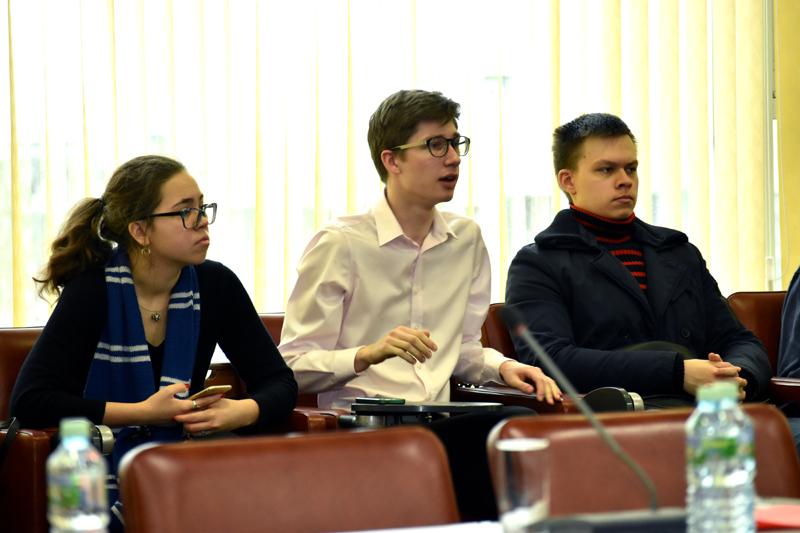 Студенты мастерской Кирилла Разлогова