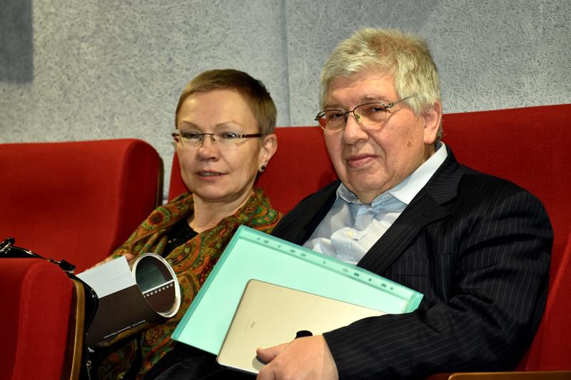 Ольга Медведева и Кирилл Разлогов