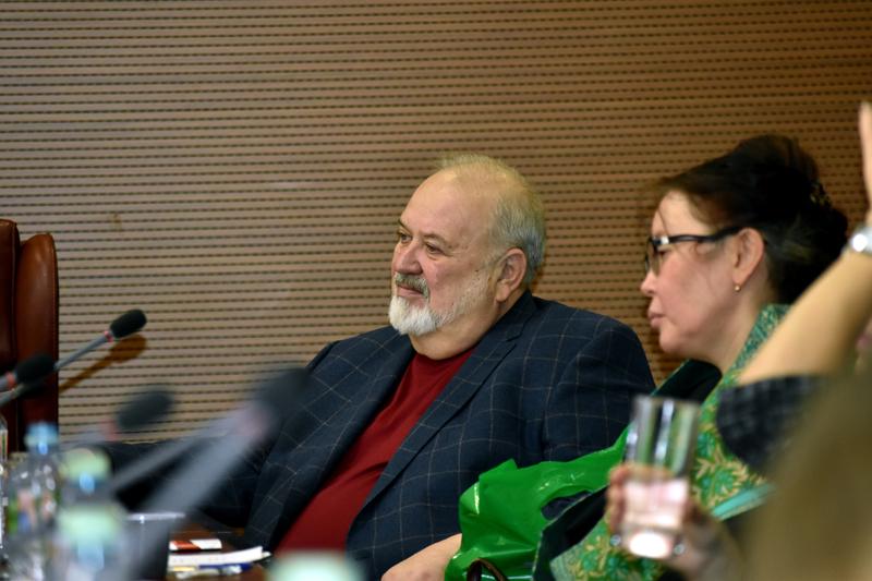 Владимир Малышев и Гульбара Толомушева