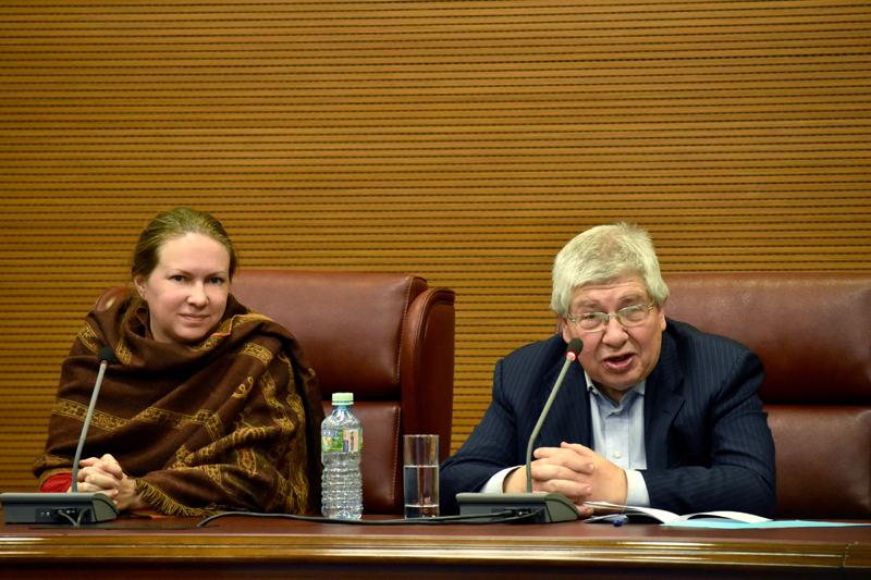 Нина Кочеляева и Кирилл Разлогов