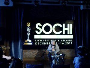 Мастер-класс Кирилла Разлогова на Сочинском международном кинофестивале и кинопремии