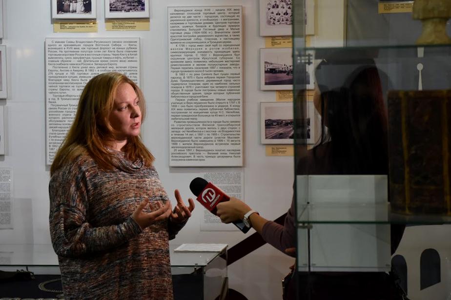 Нина Кочеляева отвечает на вопросы журналистов
