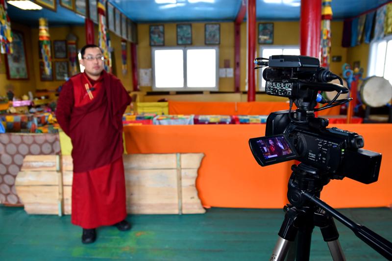 Радна Ринчинов, студент 7-го курса Буддийского университета