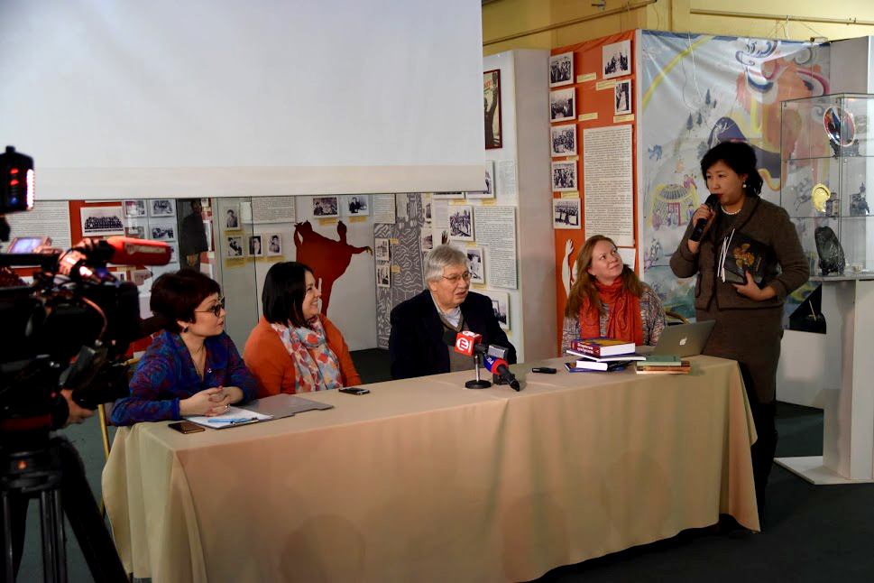 Алла Намсараева, Анастасия Разлогова, Кирилл  Разлогов, Нина Кочеляева