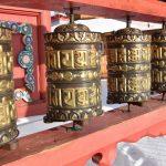 Внутри барабанов находятся мантры