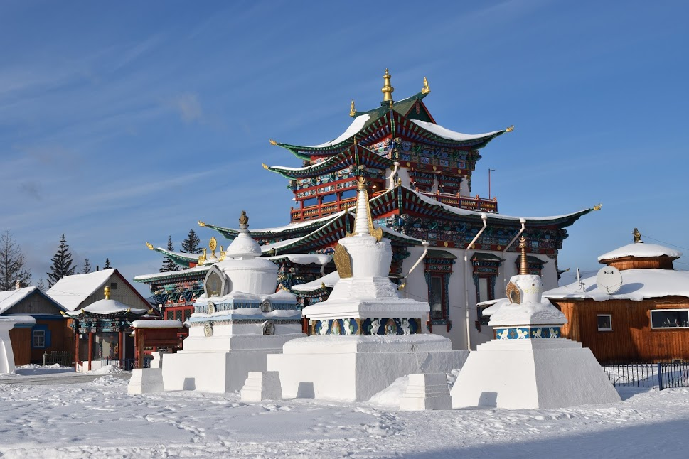 Дворец Пандито Хамбо ламы Даши-Доржо Этигэлова