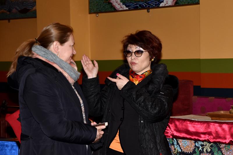Нина Кочеляева и Алла Намсараева