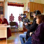 Интервью с ширээтэ ламой