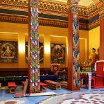 Убранство храма Дацана Гунзэчойнэй