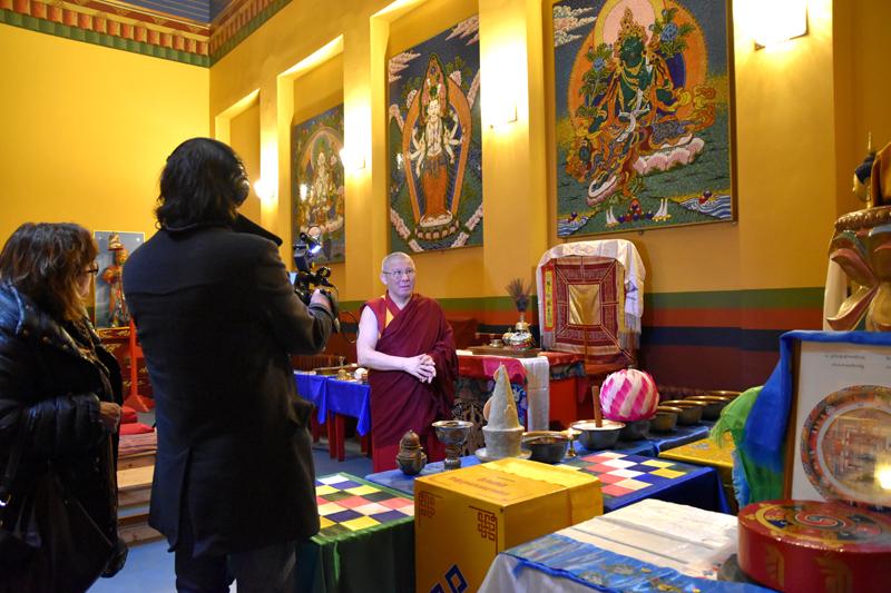 Ширээте лама Буда Бальжиевич Бадмаев рассказывает о дацане
