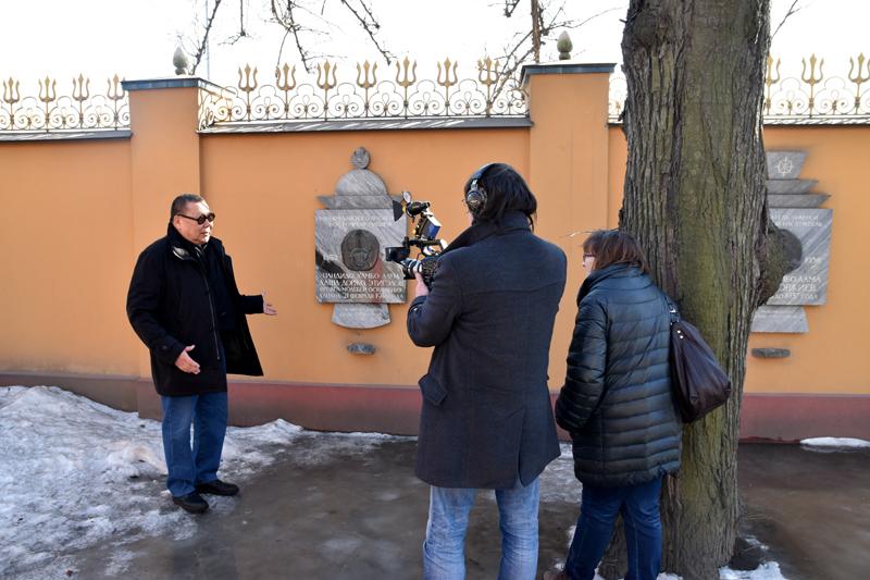 Интервью с Вячеславом Бухаевым, академиком Российской академии художеств
