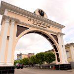 Улан-удэ.  Арка, построенная в память проезда через Верхнеудинск цесаревича Николая Александровича в 1891 году