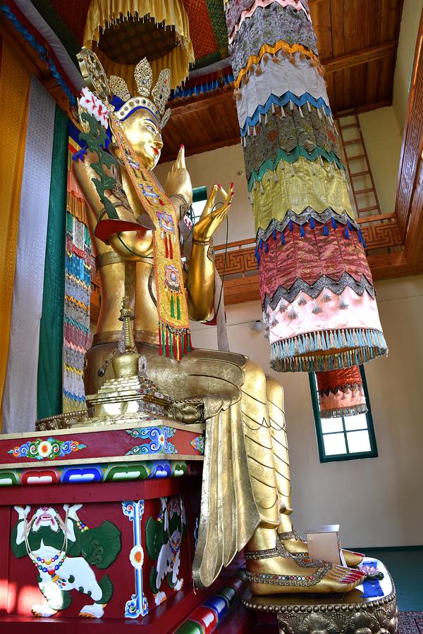 Будда Майтрея в Цугольском дацане
