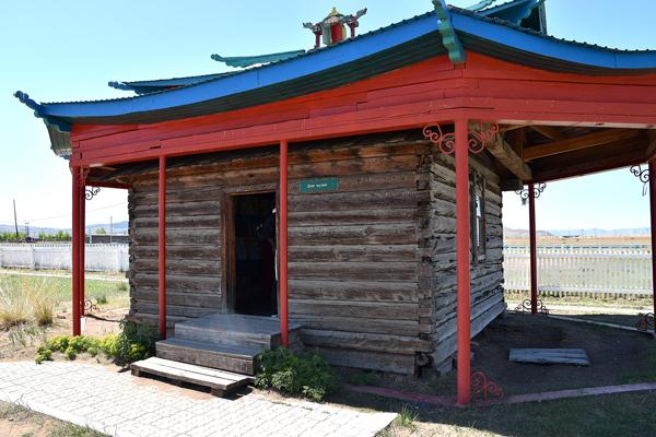 Улзын Добоо. Дом-музей Пандито Хамбо ламы Даши-Доржи Этигэлова