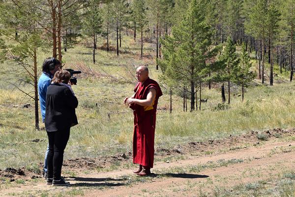 Интервью с Буда ламой Цыденовым