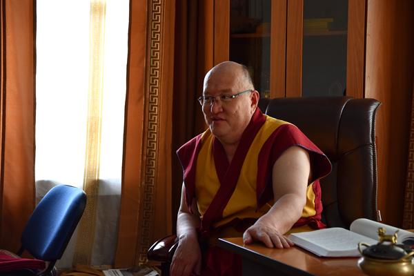 Бадма Цыбиков, ширээтэ лама Агинского дацана