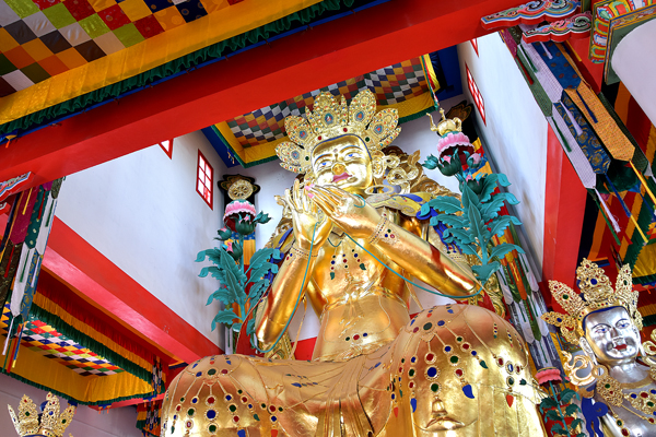 Будда Майтрея в Агинском дацане