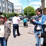 Виктор Харитонов проводит экскурсию по Улан-Удэ