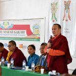 XXIV Пандито Хамбо Лама Дамба Аюшеев открывает конференцию