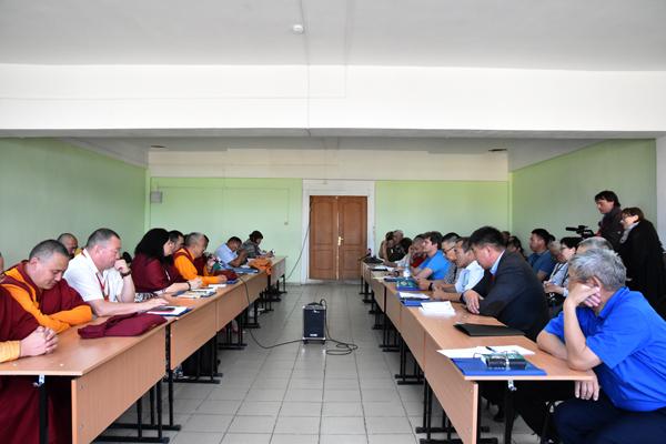 Заседание русскоязычной секции конференции