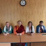 XXIV Пандито Хамбо Лама Дамба Аюшеев и съемочная группа