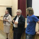 Нина Кочеляева, Кирилл Разлогов, Анджей Петрас